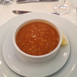 Red Lentil and Bulgur Soup (Ezogelin Corbasi)