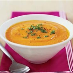 Red Pepper-Cauliflower Soup