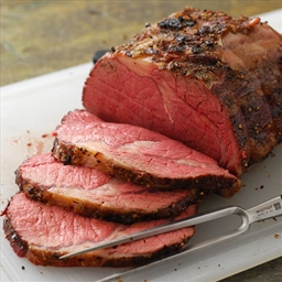 Reverse Seared Beef Rib Roast