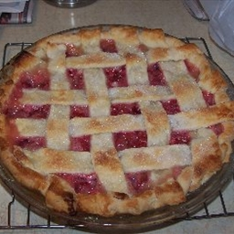 Rhubarb Lemon Pie