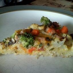 Rice-Crust Quiche