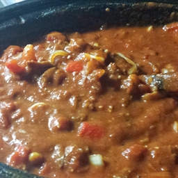 Rich Mans slow Cooker Chili