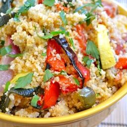 Roast Veg and Cous Cous Salad