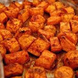 Roasted Salted Sweet Potatoes