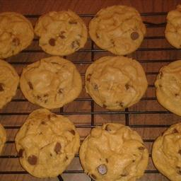 Rolo Stuffed Pumpkin Spice Pudding Cookies