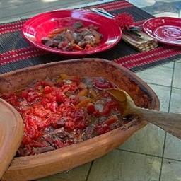 Romertopf Beef in Red Wine