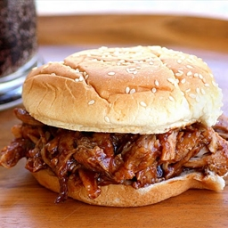 Root Beer Pulled Pork BBQ CrockPot