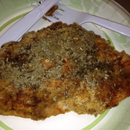Sage Crusted Chicken