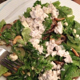 salad romaine lettuce with tofu