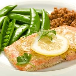 Salmon- Marmalade Dijon Glaze