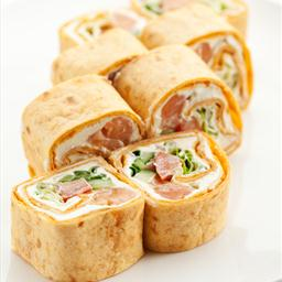 Salmon Tortilla Appetizers