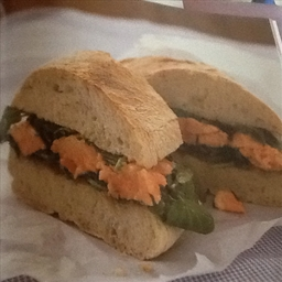 Salmon & Watercress Ciabatta
