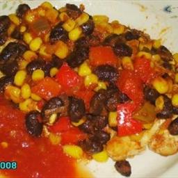 San Antonio Chicken with Picante Black Bean Sauce