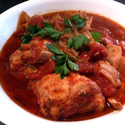 Crock Pot Saucy Italian Style Chicken Thighs