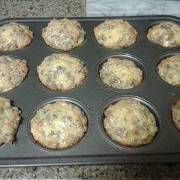 Sausage& Cheese Muffins