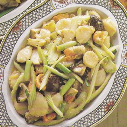 Scallops in Oyster Sauce