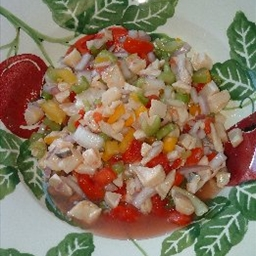 Scorched Conch Salad