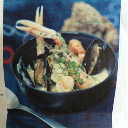 Seafood chowder Irish