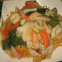 Seafood Pan-Fried Noodles
