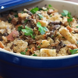 Seriously Meatless: Wild Mushroom Stuffing