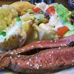 Sesame Flank Steak