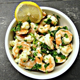 Shrimp Scampi (DailyBurn Ignite)