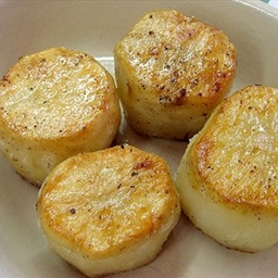 Simple Fondant Potatoes
