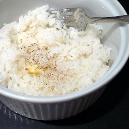 Simple Steamed Rice (Rice Cooker)