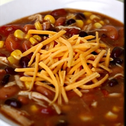 Slow Cooker 8-Can Taco Soup