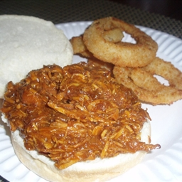 Slow Cooker Chicken Barbecue