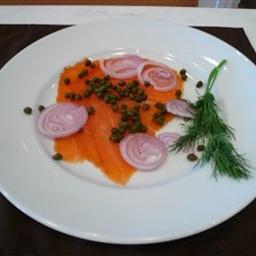 Smoked Salmon Platter (brunch)