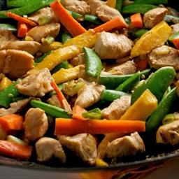 Snappy Chicken Stir-Fry