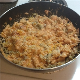 South-of-the-Border Chicken & Pasta Skillet