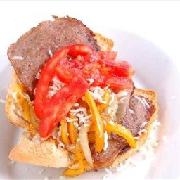 South Philly Cheese Steak Sandwich