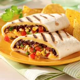 Southwest Bean Wraps