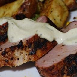 Southwestern Pork Tenderloins W/ Cumin Mayonnaise