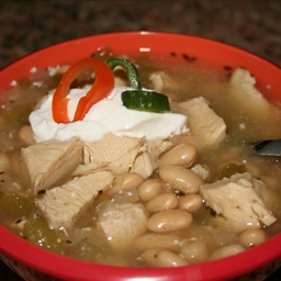 Southwestern White Chili