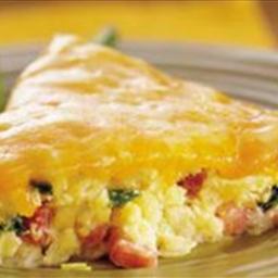 Slow Cooker Western Omelet Casserole
