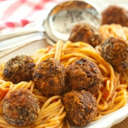 Spaghetti and (Vegan) Meatballs