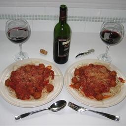 Spaghetti & Meat Balls