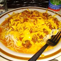 Spaghetti w/ Meat Sauce
