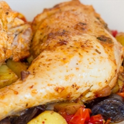 Spanish Roast Chicken