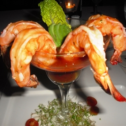 Spiced Prawn Cocktail