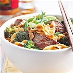 Spicy Beef Noodle Bowl