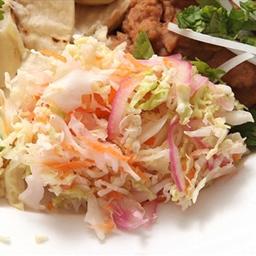 Spicy Cabbage Slaw (vegan)