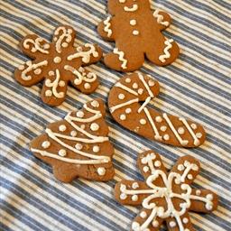 Spicy Gingerbread Men Cookies