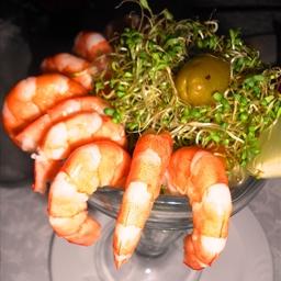 Spicy Lemon Marinated Shrimp
