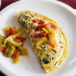 Spicy Omelette with a Sweet Twist