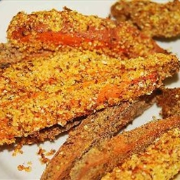 "Spicy Oven Baked Sweet Potato ""Fries"""