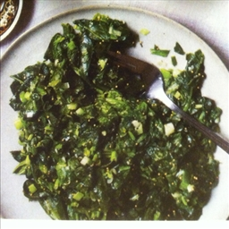 Spicy Sautéed Spinach